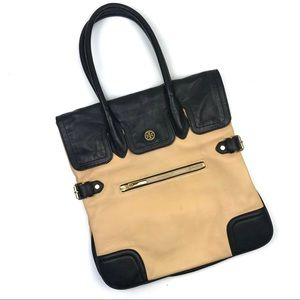 Tory Burch uber soft pebbled leather tote